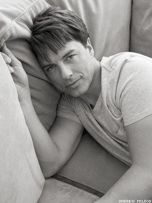 John in bed.