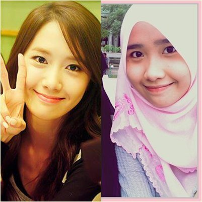 yes,,, she really look a like  yoona... how lucky she is !! i'm jealous :(