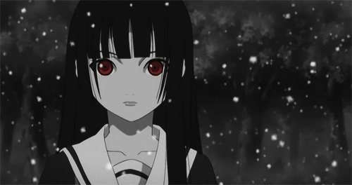 Enma Ai from Hell Girl.