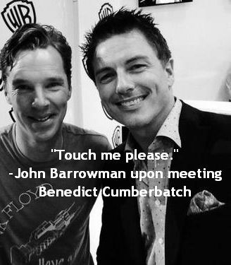 John and Benedict.