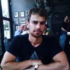 Theo looking directly into my soul<3