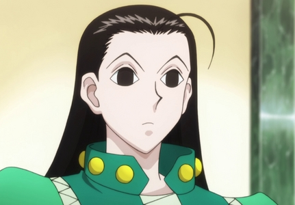 Illumi is....well....terrifying and creepy and needs to just...sigh........ BUT HE'S SO GREAT!!!!!!!