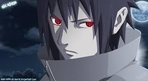 Sasuke Uchiha from 火影忍者 .