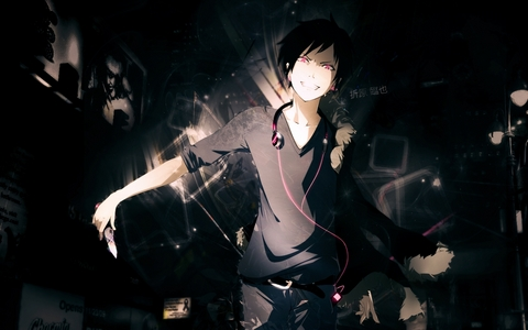 Izaya Orihara........he is an evil person...really evil person!~