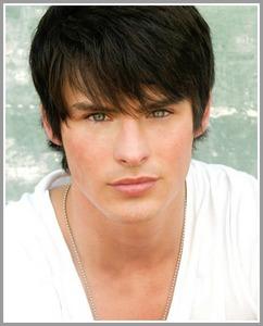 Adam Gregory with dark hair<3