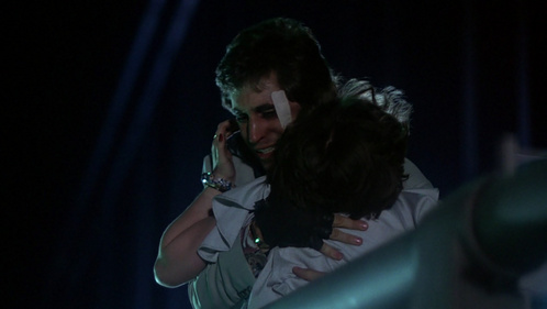 Joey and Donna looking very emotional <3333