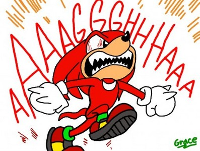 knuckles is on almost everyone's shit lista in that game. he's so annoying popping out of nowhere all the time.
