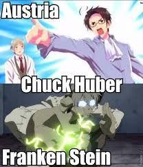 Austria (hetalia) and Stein (soul eater)
