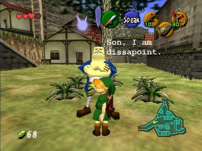 This background character in LOZ;OOT. I am surprised there are not 더 많이 memes about this guy.