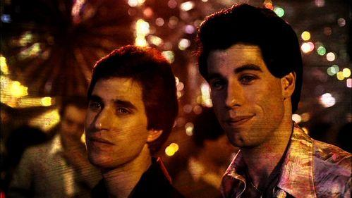 Tony Manero and his friend, Joey :)