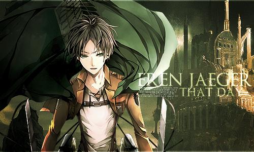 eren jaegar from attack on titans