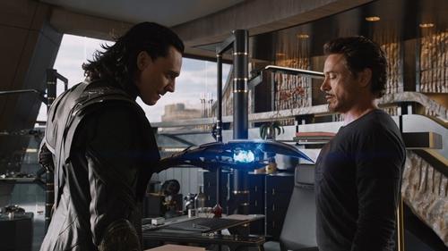 Loki and Tony :33