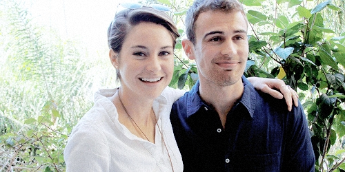 my babelicious Theo with the lovely Shailene<3