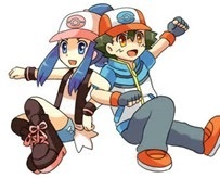 I think dawn is perfect for ash they so much in common, they प्यार Pokemon, and they प्यार to battle, and didn't आप see ash's reaction when he saw her again in unova