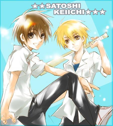 ♥ Keiichi Maebara AND Satoshi Houjou ♥