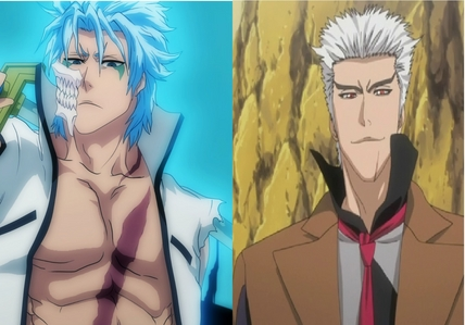 I couldn't decide so I ended up picking two instead of just one. Grimmjow Jaegerjaquez and Jin Kariya.