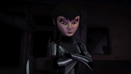 Yes I was sure Karai was really Miwa from the start. Master Splinter's Flash back Showed no sign of Shredder having a daughter. And due to age and the fact she was so not like the Shredder at all. it was easy for me to conclude she was his daughter not Shredders.