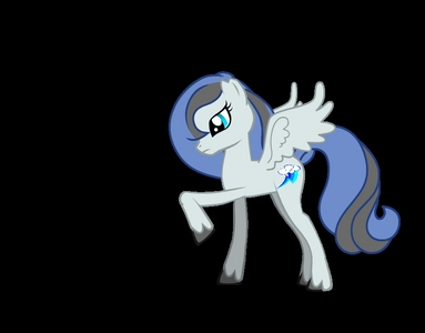 what kind of pony? (Pegasus / alicorn) what would your cutie mark be? (electric lightning bolt) what color would your mane be? (dark blue) what would Du work at? (help with wither in clouds dial ) my name would be (Lightning Rider) my skin world be gray oder wight