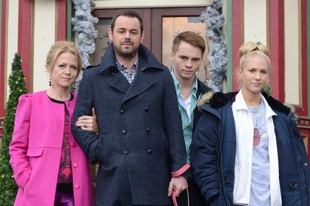 Danny Dyer as Mick who is married to Linda!