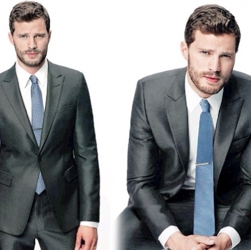 Jamie in a suit<3