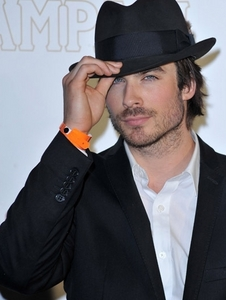 Ian wearing a hat<3
