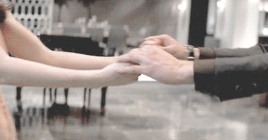 Jamie and Dakota's hands from a scene in FSOG<3
