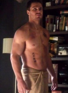 Stephen's sexy muscles<3