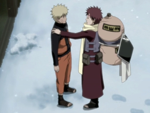 Gaara. :3 He's my favourite fictional character of all time!