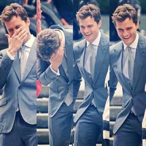 Jamie laughing<3