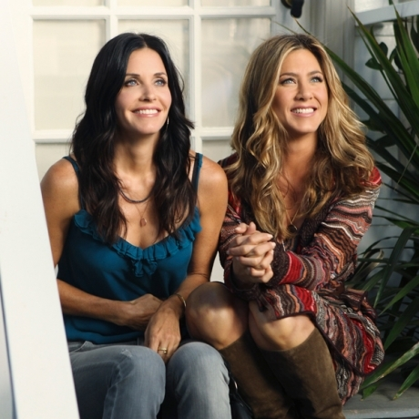 Jennifer Aniston and Courteney Cox in my oppinon