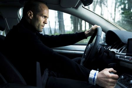 Jason Statham in a car<3