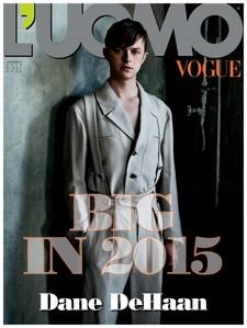 Dane on the L'UOMO magazine cover<3