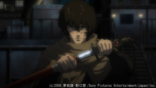 Kurozuka is a great gory vampire action/romance series and it seems underrated te can support the official release and watch for free on crackle.com