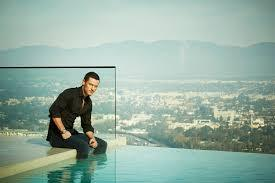 Luke Evans from a distance<3