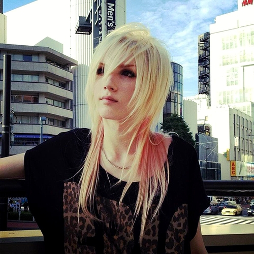 Yohio I don't care that he's not a girl, he's prettier than most girls anyway.