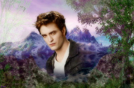 Robert with a beautiful background<3