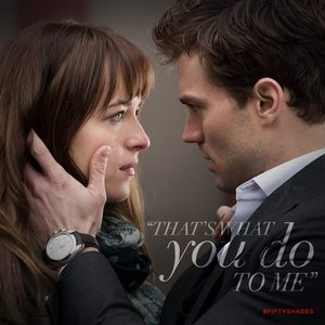 this is one of my fave fictional couples,Christian and Ana<3