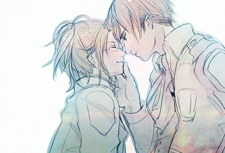 Levi and Hanji from Shingeki no Kyojin ❤