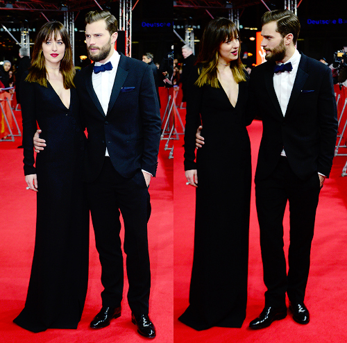 Jamie and Dakota from the FSOG premiere in Berlin<3