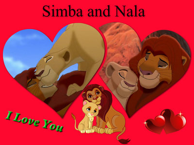 Of course, Simba luvs Nala, it's just that the 2nd film isn't focus on them as much as it is on Kiara. Simba and Nala most likely share their Cinta off screen.