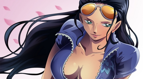 Nico Robin is way sexier then Nami.