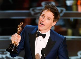 Congrats Eddie on your Oscar!!!!His reaction and speech were both wonderful<3
