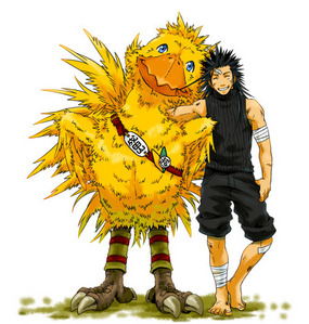 - Yes, we used to own one but it broke. It was ace. - Nope, I don't think I could handle one hahah - Yes, but only recently tried last taon ^^ - Yes - Countless days - Dragon Age: Origins Ah, Zack with a chocobo, close enough~ x3