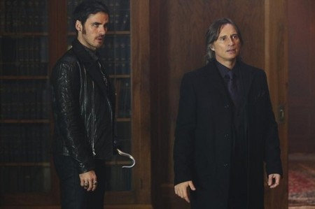 Colin O'Donoghue and Robert Carlyle,OUAT<3