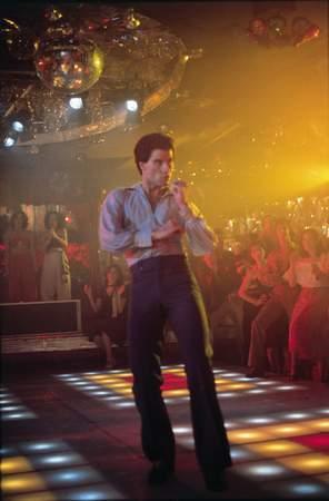 John on the disco floor <3333