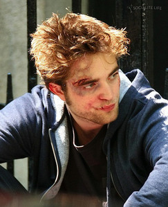 my poor babe looking roughed up.Don't worry,I'll give him lots of TLC<3