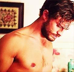 delicious Dornan shirtless<3