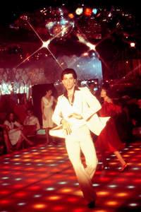 John wearing his disco suit :)