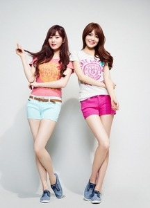 For me, Seohyun and Sooyoung. they both have nice voices and they can dance well. Peace! No hate.
