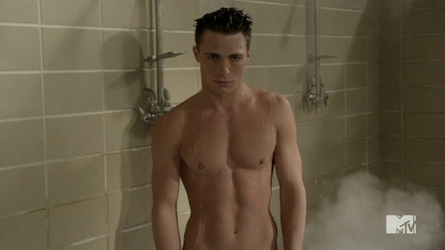 Colton's sexy and wet stomach<3